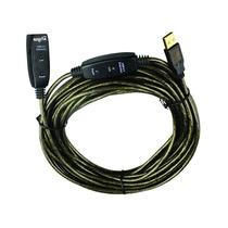 Cable Usb 2.0 Alargue M A H 25mts C/amplificador Ns-caexus25