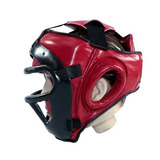 Protetor Cabeça/capacete C/ Grade Removível Luta Karatê Boxe