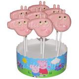 Chupetines De Chocolate Peppa Pig Pepa En Colores Souvenirs!