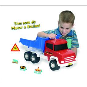 Caminhão Basculante Twister Sound Infantil
