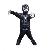 Roupa Fantasia Infantil Spider Man Venom Homem Aranha Tam. G