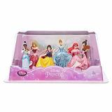 Playset Princesas Disney Store Branca Neve Bela Aurora Tiana