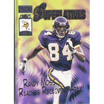 2000 Skybox Superlatives Randy Moss Wr Vikings