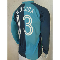 Playera Mexico Utileria Memo Ochoa Parche Lextra Mundial