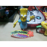 Bart Simpson Surf Kowabunga Los Simpsons 90`