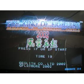 Video Juegos Arcade Neo Geo Kof Ultra Plus 2002 Especiales