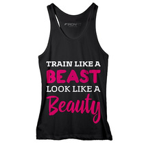 Regata Feminina Train Like A Beast - Preta - Ironfit - M