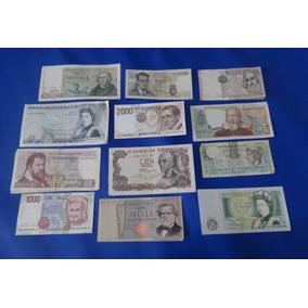 17 Billetes Antiguos De Europa