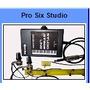 Captador Acordeon Pro-six Pss C/ 6 Microfones Black Bug