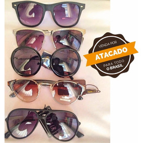 Oculos De Sol Sem Marca Kit 15 Unidades Atacado Frete Gratis