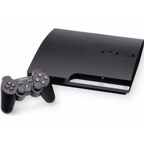 Playstation 3 Slim 250gb Controle Original Cabohdmi Garantia