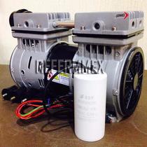 Cabezal Compresor Libre De Aceite 1hp Semi Silencioso