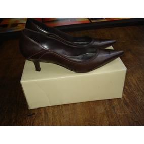 Zapatos De Cuero - Zara - Nº 39 - Excelente Estado