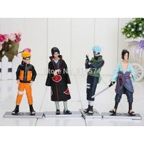 Kit 4 Bonecos Naruto 12 Cm Black Friday