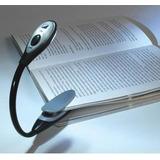 Luminária Led Clip Leitura De Livros - Flexivel