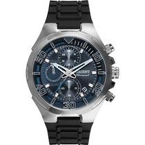 Relógio Orient Cronógrafo 100m Pulseira Silicone Mbspc034