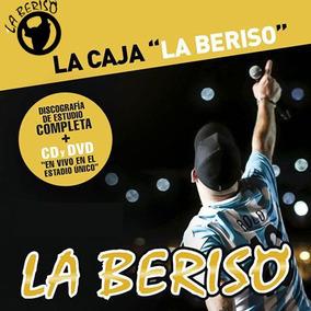 La Caja De La Beriso Discografia + Dvd Show En La Plata Box