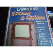 Lavatório Charme E Beleza Da Bandeirate Brinquedo Antigo