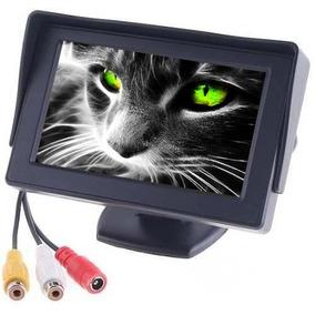 Tela Monitor Veicular 4.3 Vídeo Lcd P/ Camera Ré Dvd Ps4 New