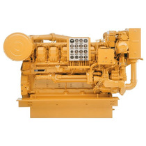 Motor Caterpillar 3512 Marino Todo En Ceros   Negociable