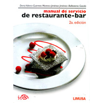 Mnl De Servicio De Restaurante-bar 2/ed - Valera / Limusa