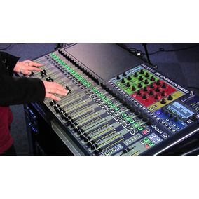 Consola Digital Soundcraft Si Expression 3 Music Light Cente