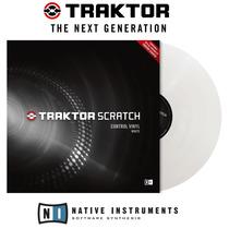 Traktor Vinyl Mk2 Branco Serato Plx Frete R$ 25,00 P Brasil