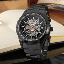 Reloj Mecanico Forsining Esqueleto Transparente Envio Gratis