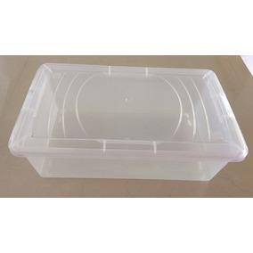 Caja De Plastico Trasparente 10 Pz