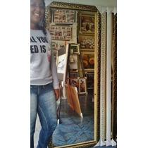 Espelho Grande 170x50cm C/ Moldura -entrego Só Na Gd S Paulo