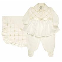 Kit Saída De Maternidade Plush Luxo Natural Sonho Mágico