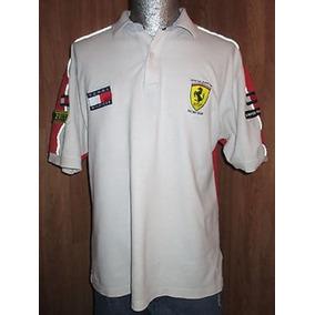 Ferrari Tommy Hilfiger F1 Playera Formula Polo Camisa Racing
