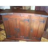 Mueble/aparador P/ Comedor.3 Puertas Rústico Artesanal.