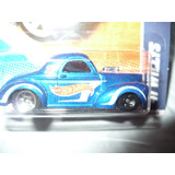 Hot Wheels 41 Willys Rareza Rueda Delantera Negra