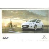 Manual De Peugeot 308 -`2012/14 Original - En Español