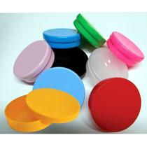 Latinha Plástica Colorida (mint To Be) Kit Com 50 Unidades
