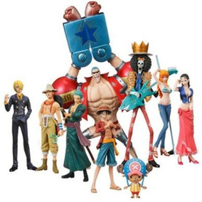 One Piece Kit De 10 Bando Do Chapéu De Palha Rei Dos Piratas