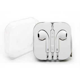 Fone Ouvido Apple Earpods Volume Microfone Iphone 4 4s 5c 5s