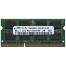 Memoria Ram 2gb Pc3-8500s Ddr3 1066mhz Sodimm Laptop