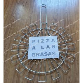 Parilla Para Pizza A Las Brasas De Varilla De Alambreacerado