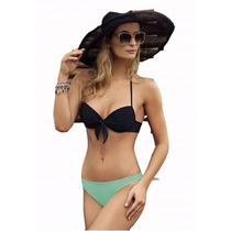 Bikinis 2017 Push Up Taza Soft Sweet Lady 767-17 T2a5 Mallas