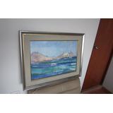 Pintura Arte,obra Maestra Cerro Azul 72 Leslie Lee Crosby