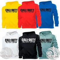 Blusa Canguru Call Of Duty Black Ops Ii Otima Qualidade!!!