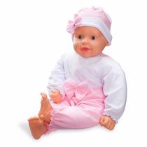Boneca Mamy Baby Grande Anjo Com Cheirinho Gostoso