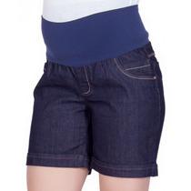 Bermuda Jeans Gestante Heloísa