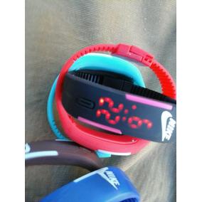 Relojes Nike Led Pulsera Varios Colores