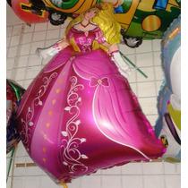 Globo 71cm 28 Pulgadas Metalizado Princesa Rapunzel