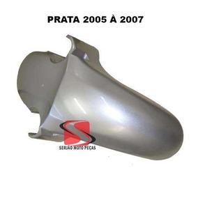 Paralama Dianteiro Cbx250 Twister Prata 2005 2006 2007