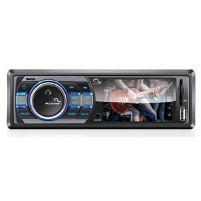 Dvd Rock Player Som Automotivo Tela3 Mp5 Usb Sd Multilaser