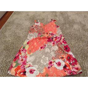 Lindo Vestido Florido! Para Meninas De 6 Anos